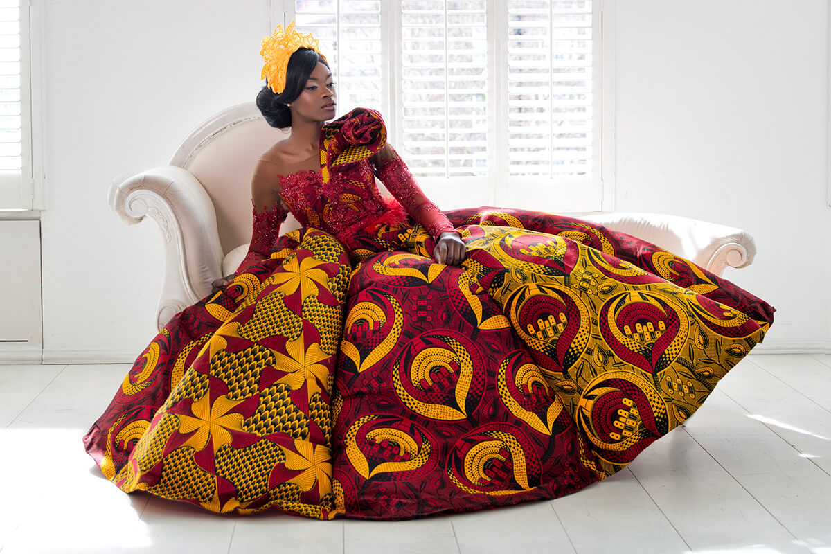 African Wedding Gowns: African Wedding Dresses By Vlisco